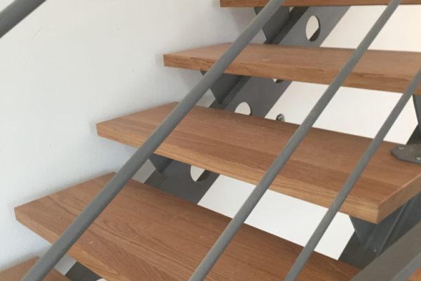 Pose escaliers bois Hagenthal