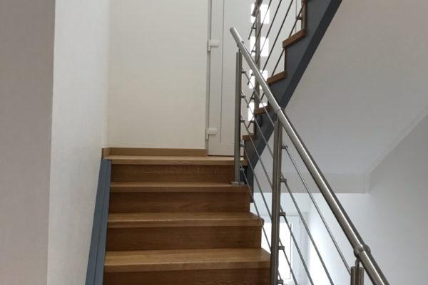 Pose escaliers en bois Mulhouse