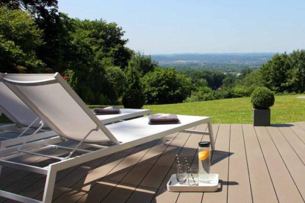 Pose terrasse composite Dornach Suisse