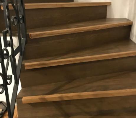 Escaliers en bois à Saint-Louis 68